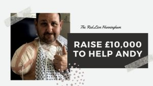 Raise £10,000 to Help Andy