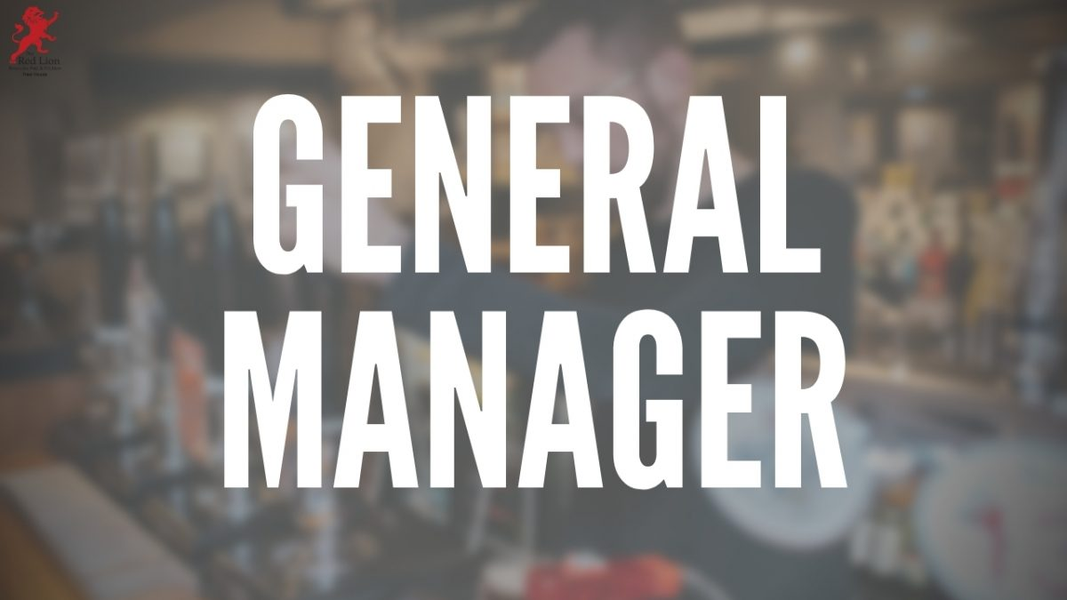 General Manager jobs warickshire