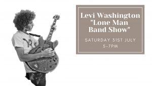Levi Washington One Man Band Show